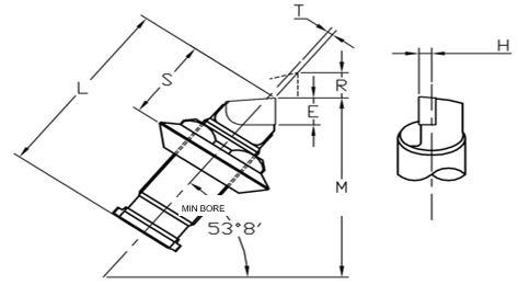 Brazed Cartridge Diagram