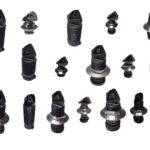 An image showing a selection of Microbore Triangular Indexable Cartridge Units