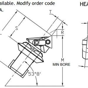 Microbore Pin Lock-Clamp Indexable Unit - Diagram 1
