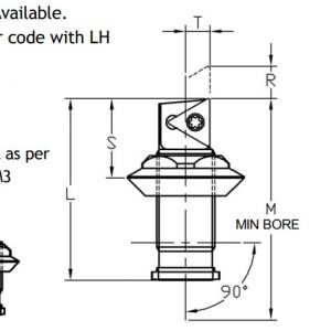 Microbore Sumitomo Electric Triangular Indexable Unit - Diagram 2