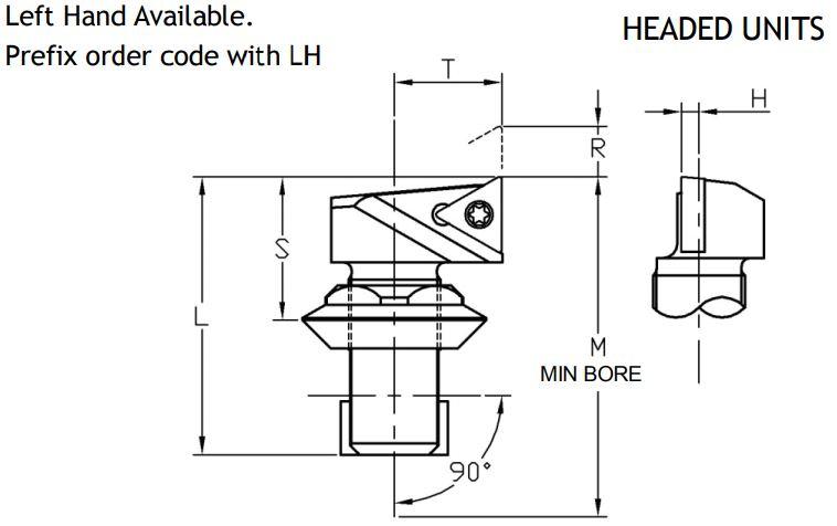 Microbore Sumitomo Electric Triangular Indexable Unit - Diagram 3