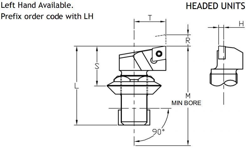 Sumitomo Electric ISO Rhomboid Indexable Unit - Diagram 3